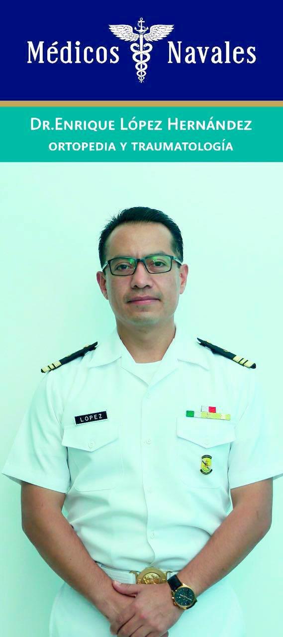 Dr. Enrique López Hernández - Médico Naval