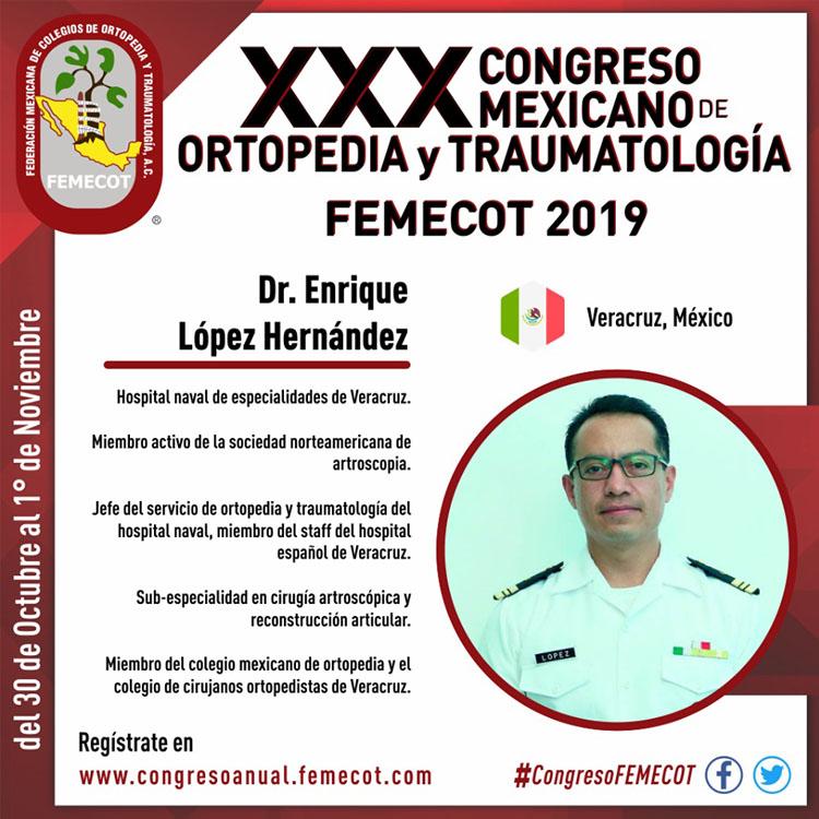 FEMECOT - XXX Congreso Mexicano de Ortopedia y Traumatología